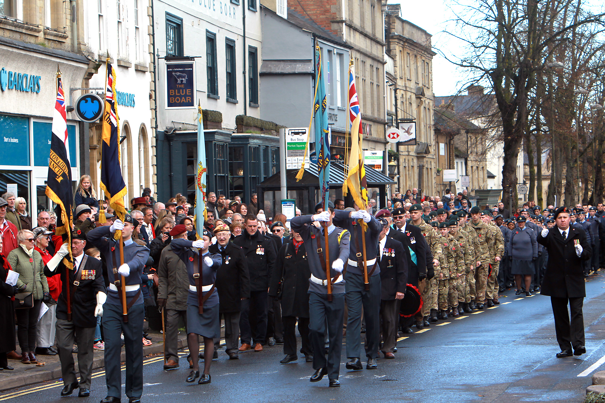 Remembrance Sunday Oxford