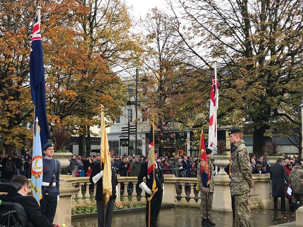 Remembrance Sunday Cheltenham