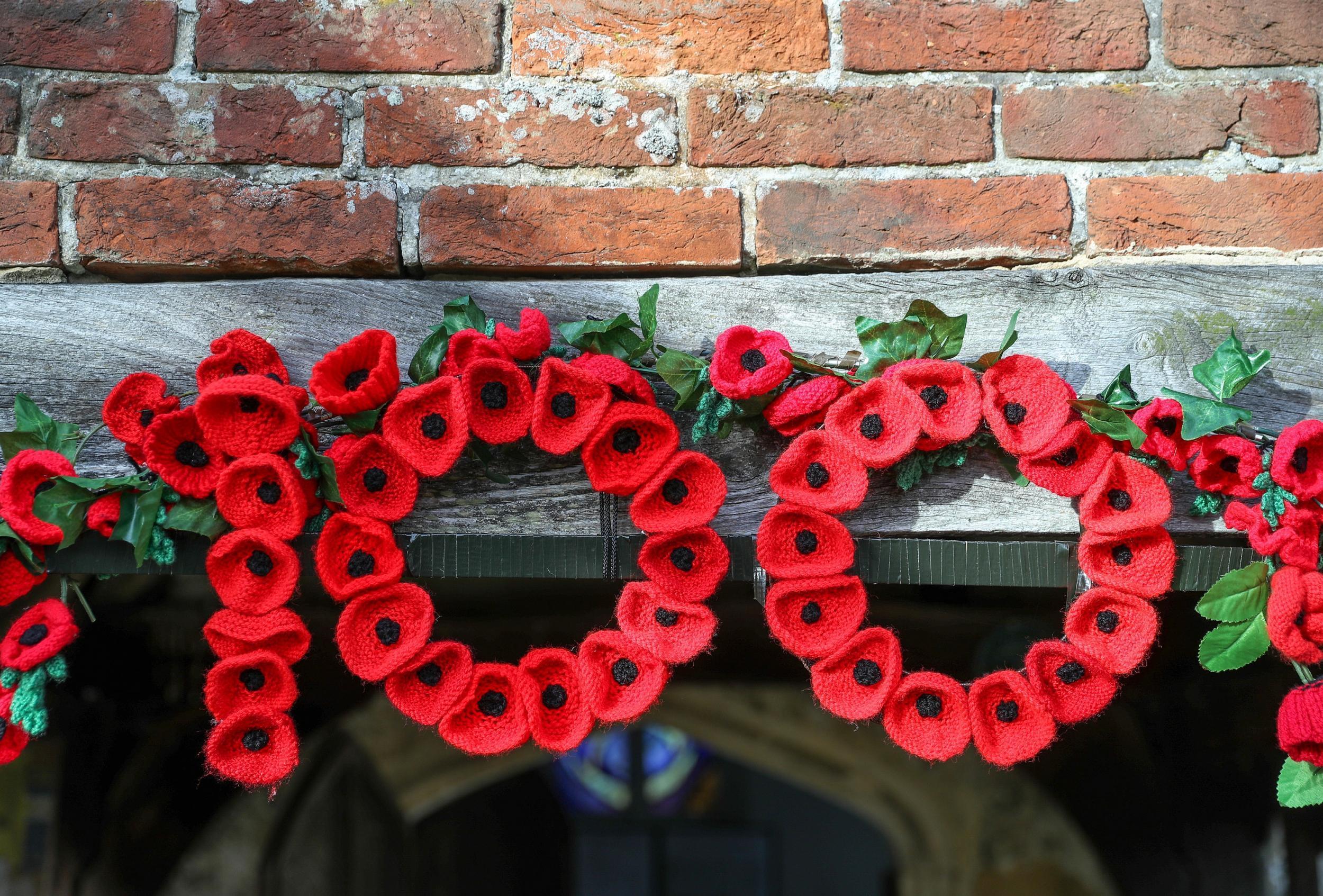 remembrance sunday poppy