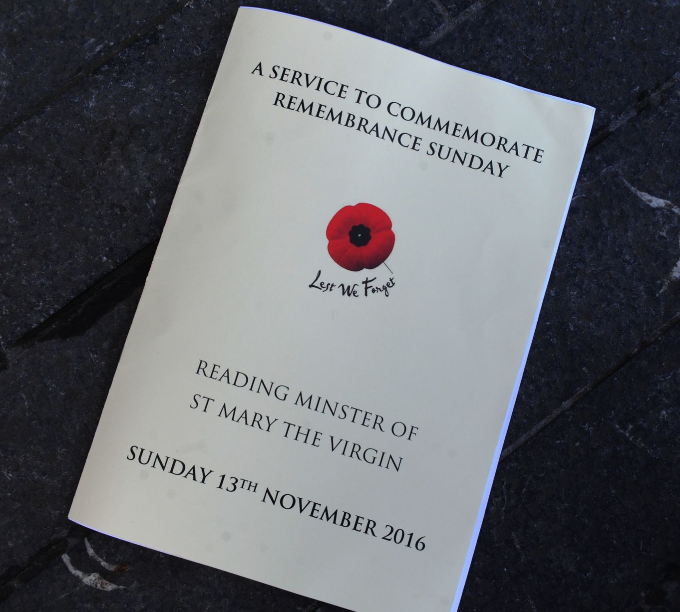 remembrance sunday readings