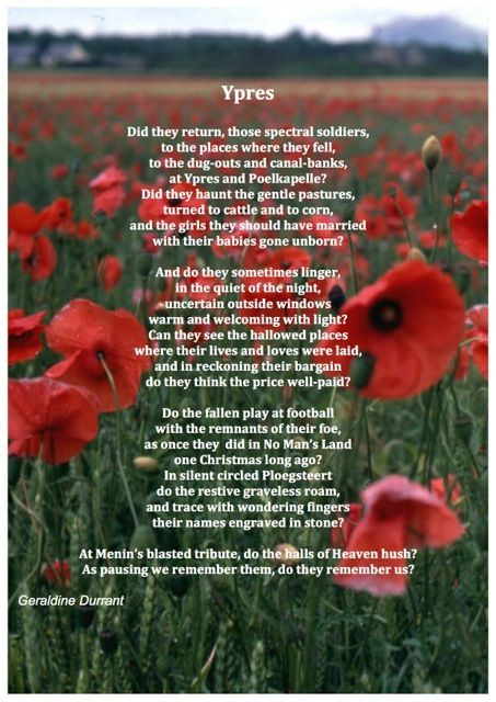 Remembrance Sunday Poems To The Future