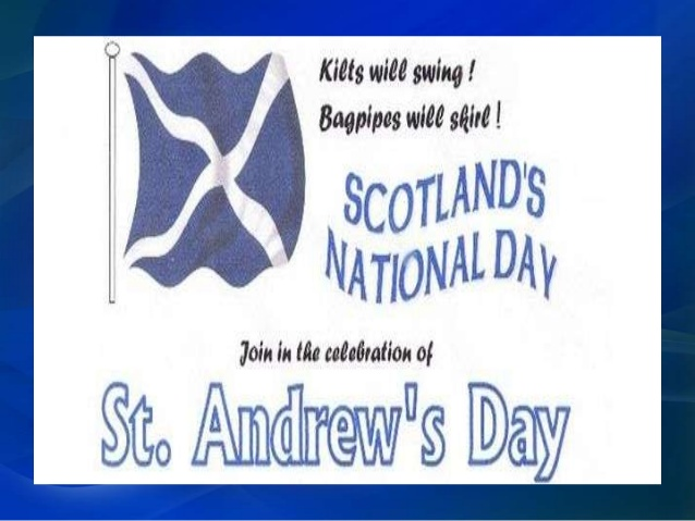 st andrews day scotland
