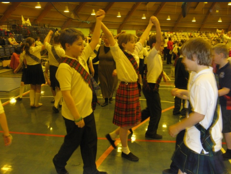 ST ANDREW DAY DANCE