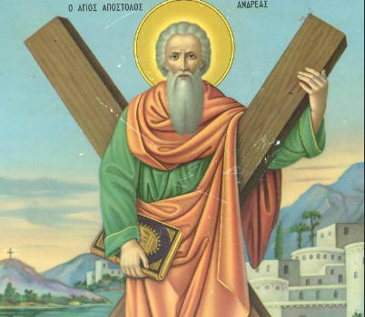 ST ANDREW DAY GREECE