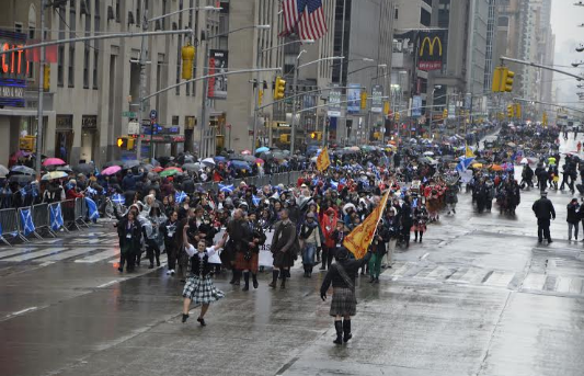 ST ANDREW DAY PARADE