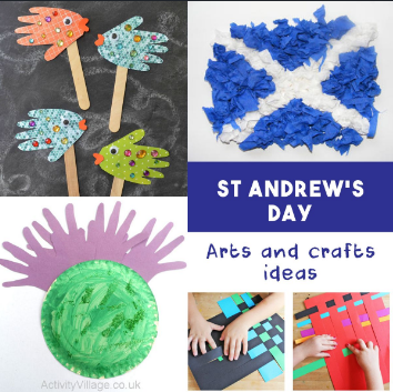 st andrew's day crafts activities