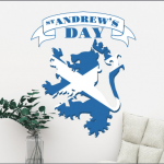 st andrew day decorations
