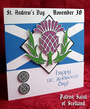 st andrew day thistle