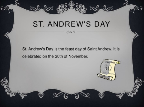 st andrew day poland