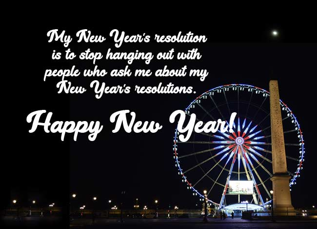 Funny New Year Quotes For Him Her