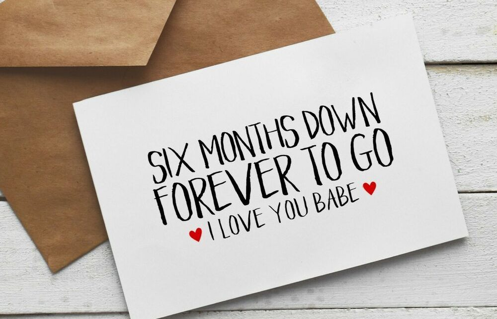 Get anniversary month a what to 6 for 15 Awesome