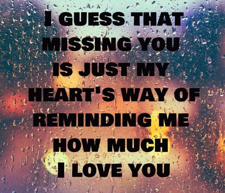 150 FUNNY I MISS YOU QUOTES FOR HER & HIM